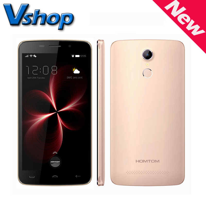 Homtom HT17 PRO 4G LTE Android 6.0 Quad Core 1.3GHz RAM 2GB ROM 16GB 5.5 inch 720P Camera OTG 3000mAh Smart Phone