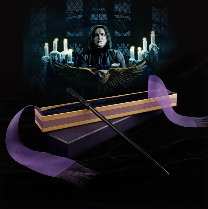 2017 Metal/Iron Core Severus Snape Magic Wand/ Harry Moive Magical Wand/ Elegant Ribbon Gift Box Packing