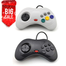 2pcs USB Wired game Controller Gamepad JoyPad Joystick   ( For Sega for Saturn Style) For PC ONLY