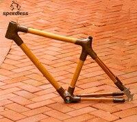 Новый продукт только 3 дюймов кг 26 дюймов бамбуковая рама для горного велосипеда