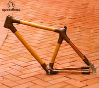 New Product Only 3kg 26 inch Bamboo Mountain bike frame for Mountain bike