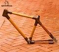 Nouveau produit seulement 3 kg 26 pouces cadre de VTT en bambou pour VTT bike frame mountain bike frame mountain frame -