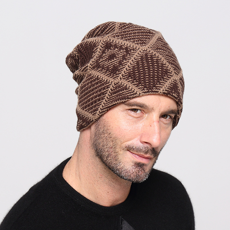 2017 Brand Beanies Knit Men's Winter Hat Caps Skullies Bonnet Winter Hats For Men Women Beanie Warm Baggy Wool Knitted Hat Cap newest brand beanies knit men s winter hat caps skullies bonnet winter hats for men women beanie warm baggy knitted sport hat