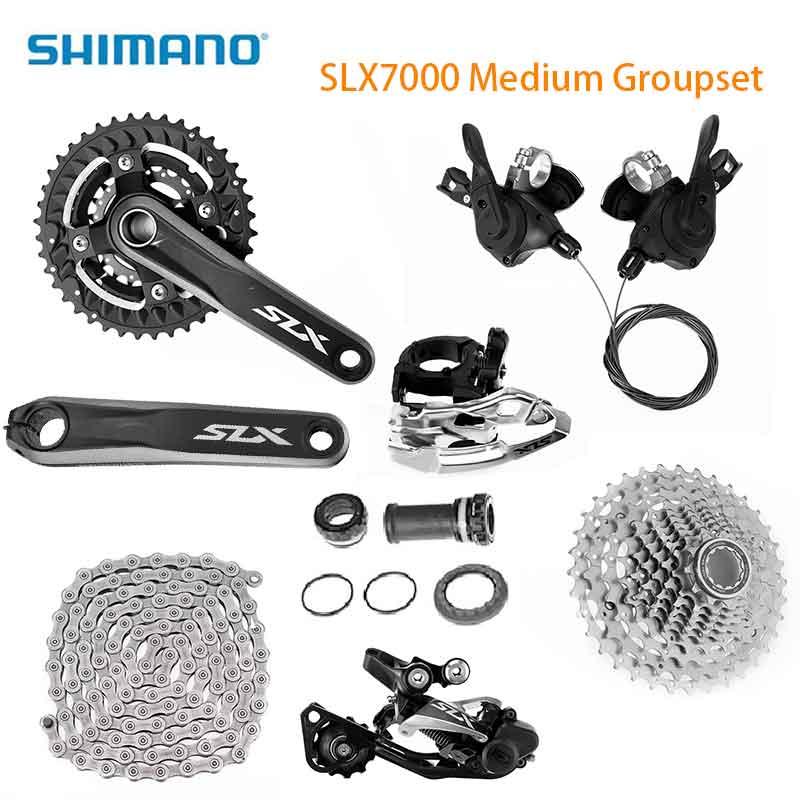 Groupe de vélo SHIMANO SLX7000 30 vitesses 81-10 roue libre HG95 groupe de vélo de VTT de route à chaîne 3*10 S