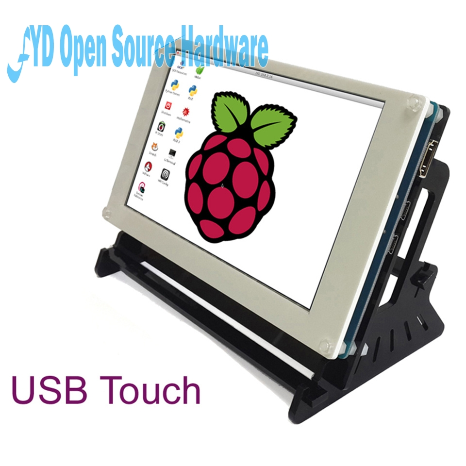 7 inch touch capacitive screen+Stent for Raspberry Banana Pro BB Black7 inch touch capacitive screen+Stent for Raspberry Banana Pro BB Black