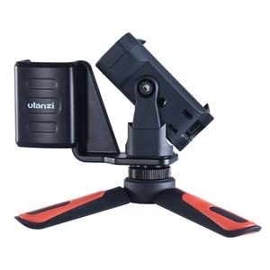 Image 5 - Osmo Pocket Phone Tripod Holder Mount Bracket with Mini Tripod Handgrip for DJI Osmo Pocket gimbal Accessories