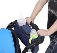 Baby Stroller Organizer Cooler And Thermal Bags For Mum Hanging Carriage Pram Buggy Cart Bottle Bags