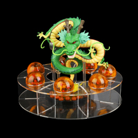 Dragon Ball Super Shenron Set Shenlong 7 Pcs Ball Shelf Dragon Ball Z Crystal Balls With