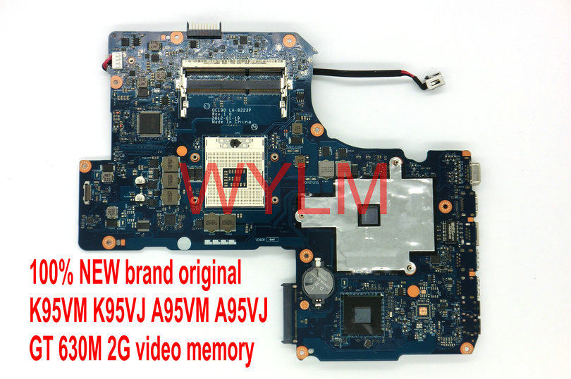 все цены на  new original K95VM A95VM K95VJ A95VJ laptop motherboard QCL90 LA-8223P GT630M 2G 90N-N84MB1000C N13P-GL-A 100% Tested Working  онлайн