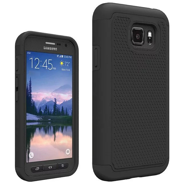 Shockproof Slim Hybrid Dual Layer Armor Defender Protective Case Cover For Samsung Galaxy S7 Active G891A image