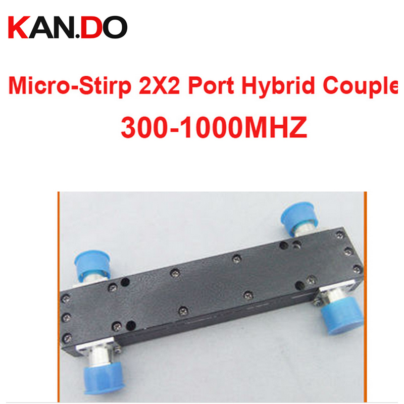 telecom use 200W 3dB 300-1000MHz Micro-Stirp coupler 2X2 Port Hybrid Coupler sigal coupling device radio frequency coupler