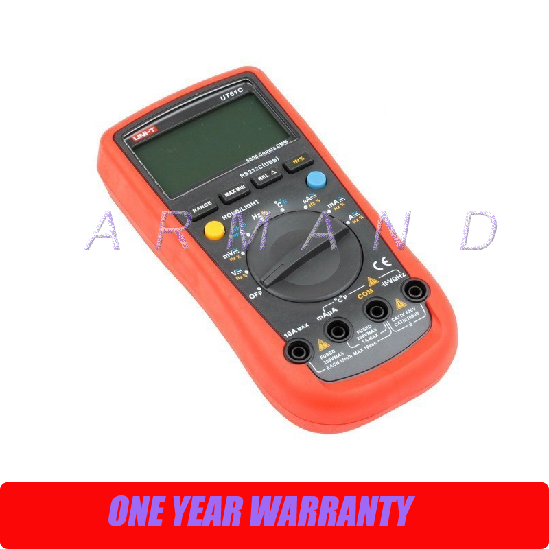 Best Digital multimeter UNI-T UT61C  цены