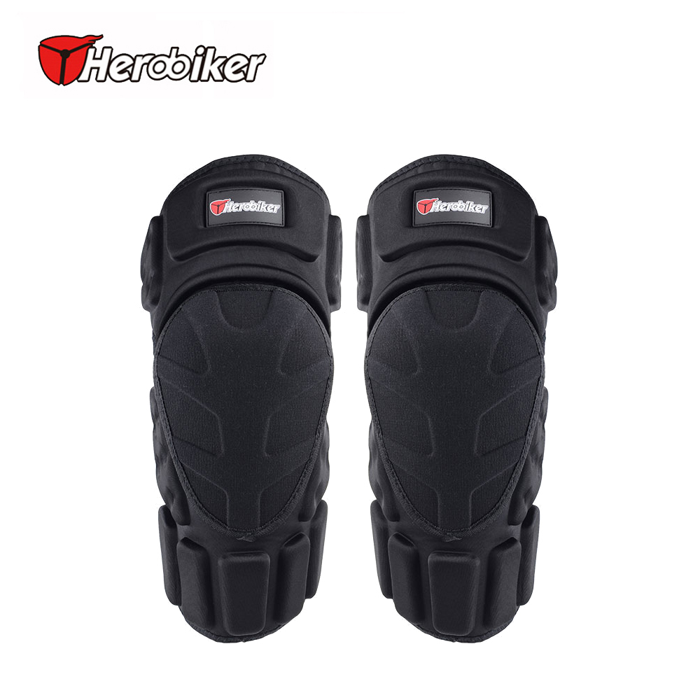 HEROBIKER 2017 Knee Protector Pads Skiing MTB Snowboarding Protective Knee Brace Support Bicycle Protective wesing muay thai boxing training kickboxing knee support brace mma shin instep guard knee pads protective