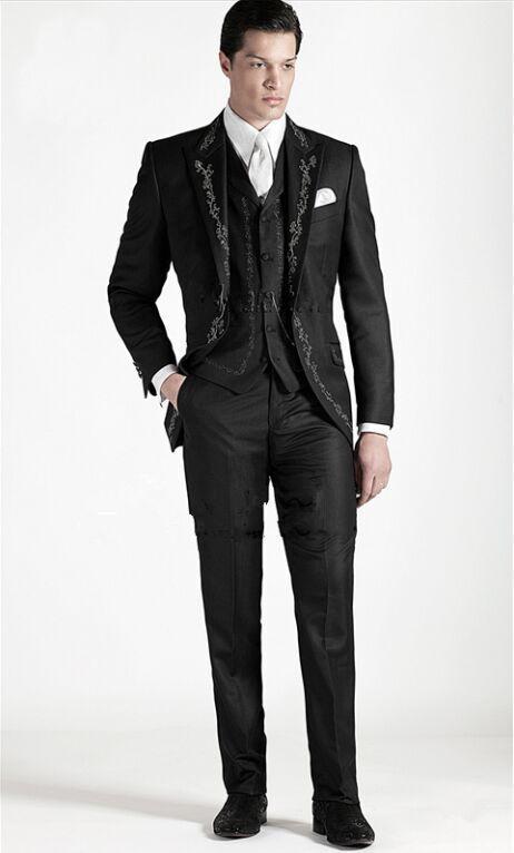 Online Get Cheap Black Embroidered Blazer -Aliexpress.com ...