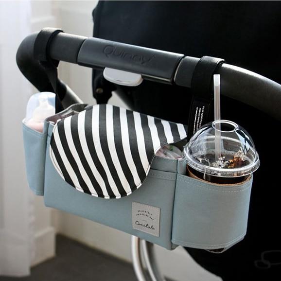 PYETA cochecito de bebé Accessoris nueva taza bolso organizador cochecito Baby Carriage Pram Buggy carrito botella coche bolsa Yoya