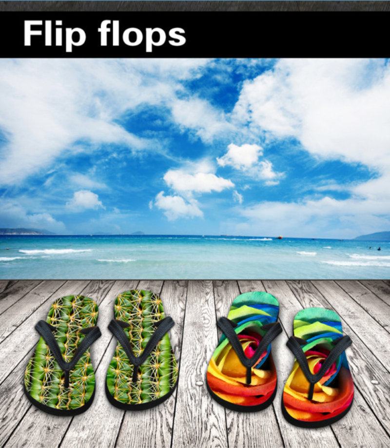 013abd9599a9b8 New Arrival Men Shoes Unique Fire Print Beach Flip Flops Anti slip Casual  Flat Sandals Men House Leisure Slipper Male Size 7 12-in Flip Flops from  Shoes on ...