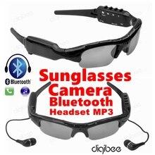 Многофункциональный Очки Камера Очки 480 P Цифровой Видеомагнитофон MP3 Bluetooth Гарнитура с Микрофоном Микрофон Мини Камеры DV