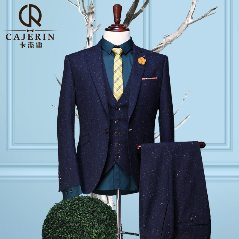Aliexpress.com : Buy (Blazer Pants  Vest)Cajerin Mens 3 Piece ...