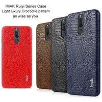 Original IMak Ruiyi Series Crocodile Silm Phone Case For Huawei Nova 2i Bumper Case For Huawei