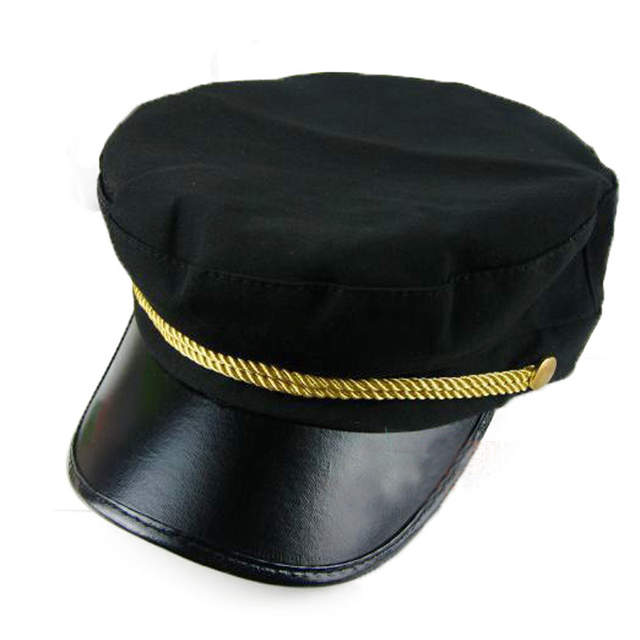 48dc05b43e4 Online Shop FS 1pcs Women Casual Korean Style Captain Hat Spring Autumn Navy  Cap Cotton Military Cap Baseball DropShipping