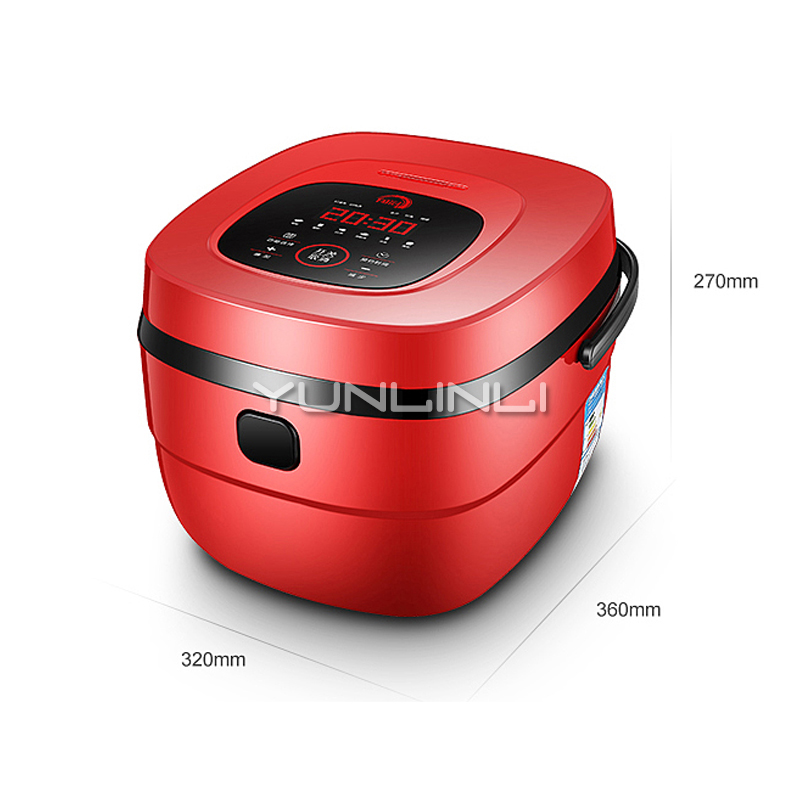 900W 5L Portable Electric Rice Cooker Large Capacity Rice Cooker For House 220V цена и фото