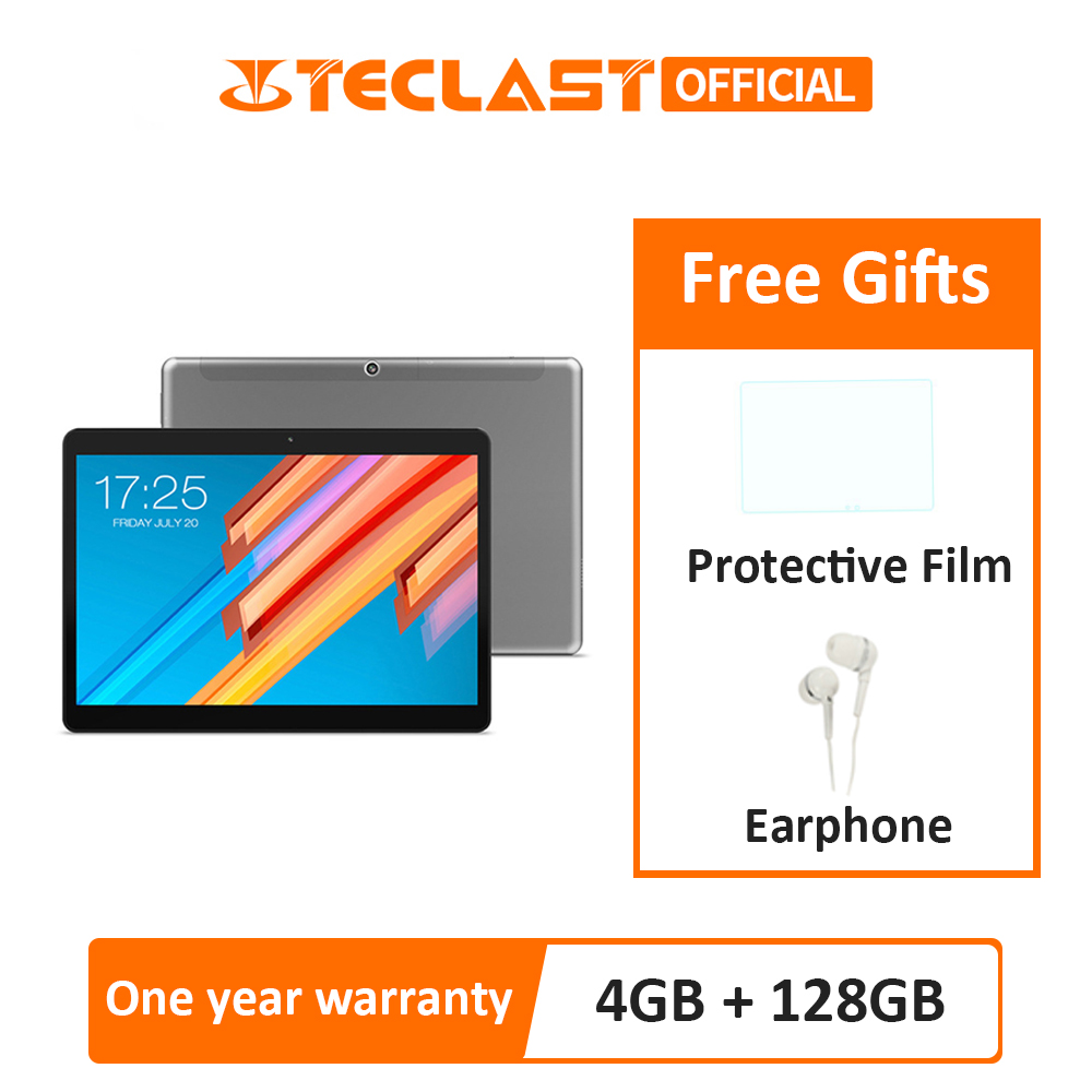 Teclast M20 4GB RAM 128GB ROM Tablet PC 10.1 inch 1920*1200 MT6797 X23 Deca Core Android 8.0 Dual 4G Phone Tablets Dual Wifi GPS(China)