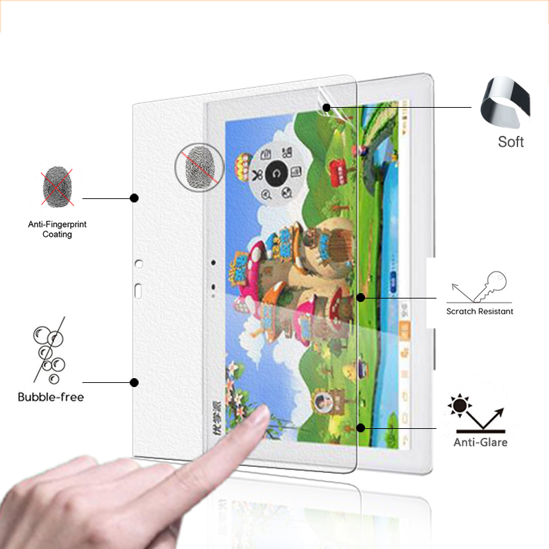 On Sale!Anti-Glare Screen Protector Film Matte Film For Noah U21 10.1 tablet front matte screen protective films image