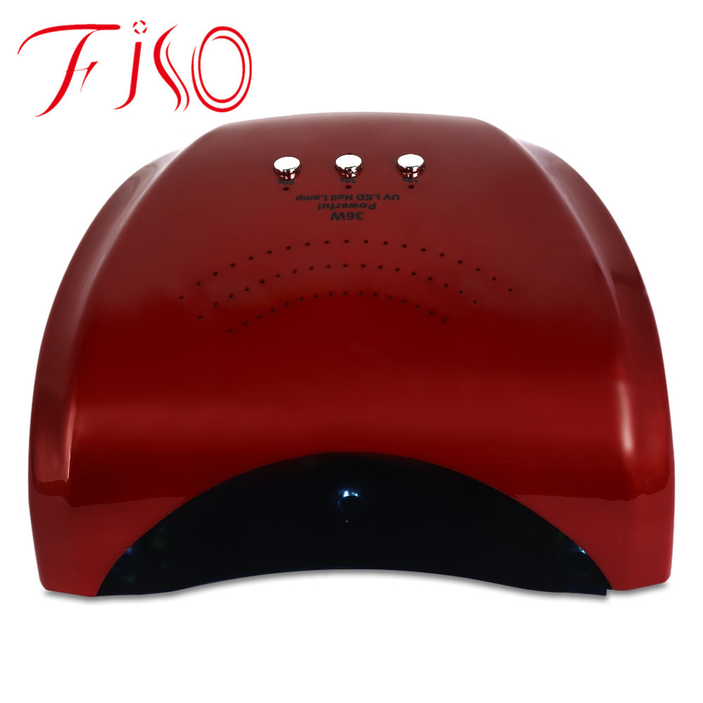 36W Dual Sources Induction UV / LED Light Lamp Nail Dryer Fast Drying UV Lamp Gel Nail Dryer machine 220V Led Nail Lamp new professional dc 12v 2a 24w uv led nail lamp nail dryer unique design intelligent induction three setting buttons an adapter
