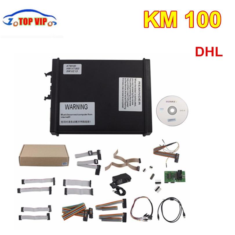 DHL Livraison V2.13 FW V7.003 KTM100 KTAG ECU Outil de Programmation V2.13 KTM 100 Maître Ver avec Illimité Jeton V2.13 KTM 100 K-TAG
