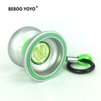 BEBOO M7 Профессиональный мяч Йо-Йо Лев световой Алюминий сплав yo комплект йо-йо + перчатки + 3 веревки + сумка Классические игрушки подарок 2017