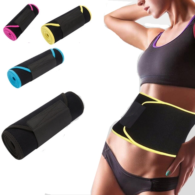 neoprene shapers belt waist trainer waist cincher corset men body shaper tummy slimming belt fitness sweat girdle slim underwear
