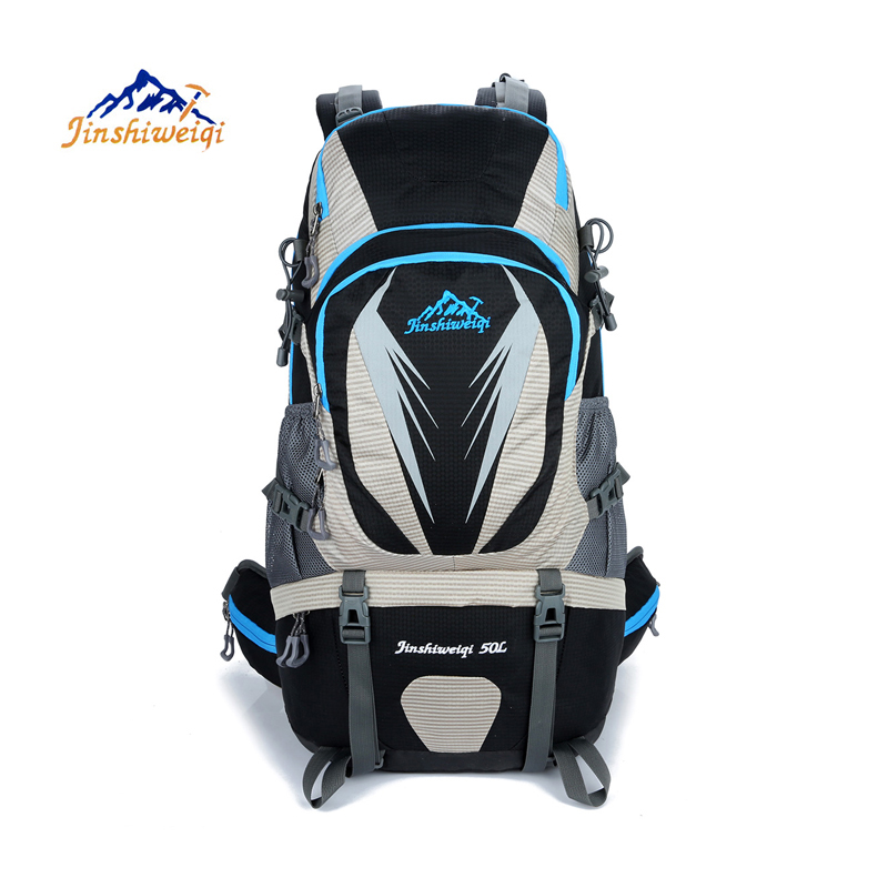 50L Outdoor backpack New 2017 Camping Travel Bag Climbing package Hiking Backpack Rucksacks waterproof outdoor sports