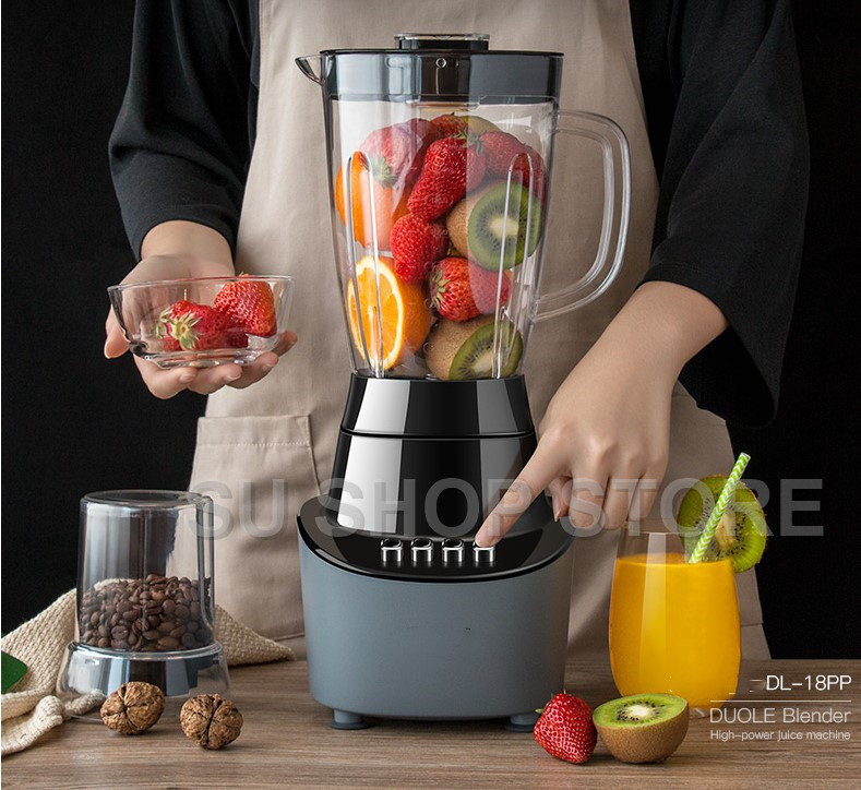 220v Home automatic multi function fried juice soy milk beat fruit mixing food processing machine small juicer