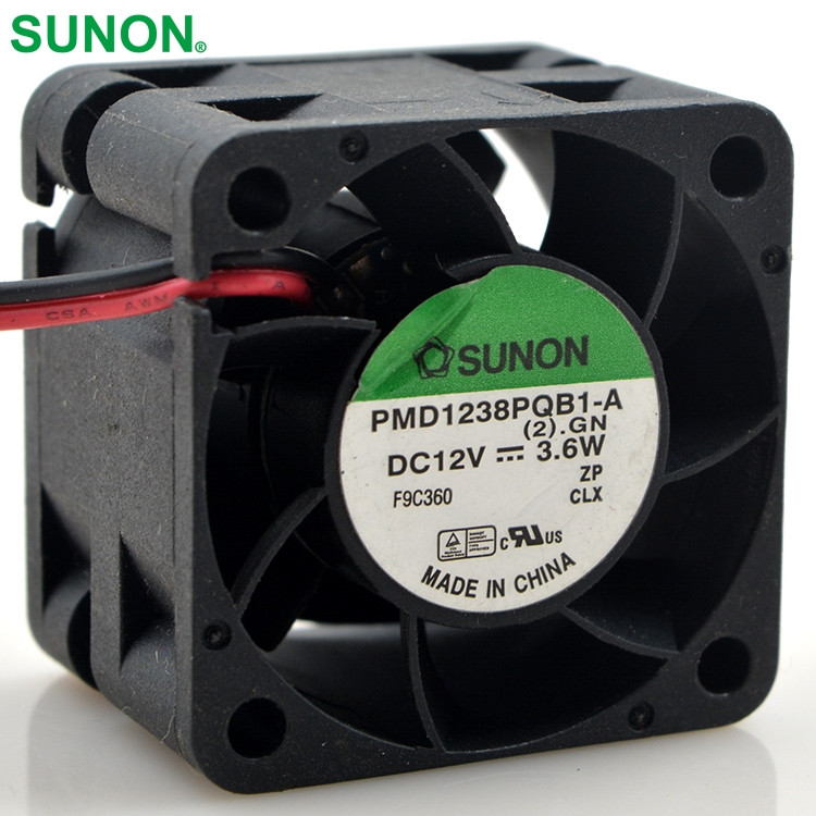 Delta original PMD1238PQB1-A  DC 12V 3.6W 4028 40*40*28mm 13000RPM  Cooling Axial Fan for wholesale free shipping original delta cooling fan nfb10512hf 7f03 49 87y01g001 12v 0 39a 3 wires projector 5pcs lot