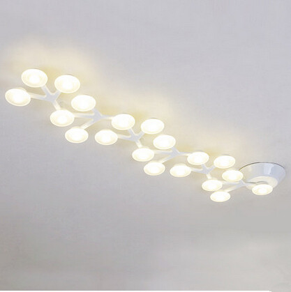 buy creative design office led ceiling light modern dinning decoration ceiling lights fixture acryl shade from