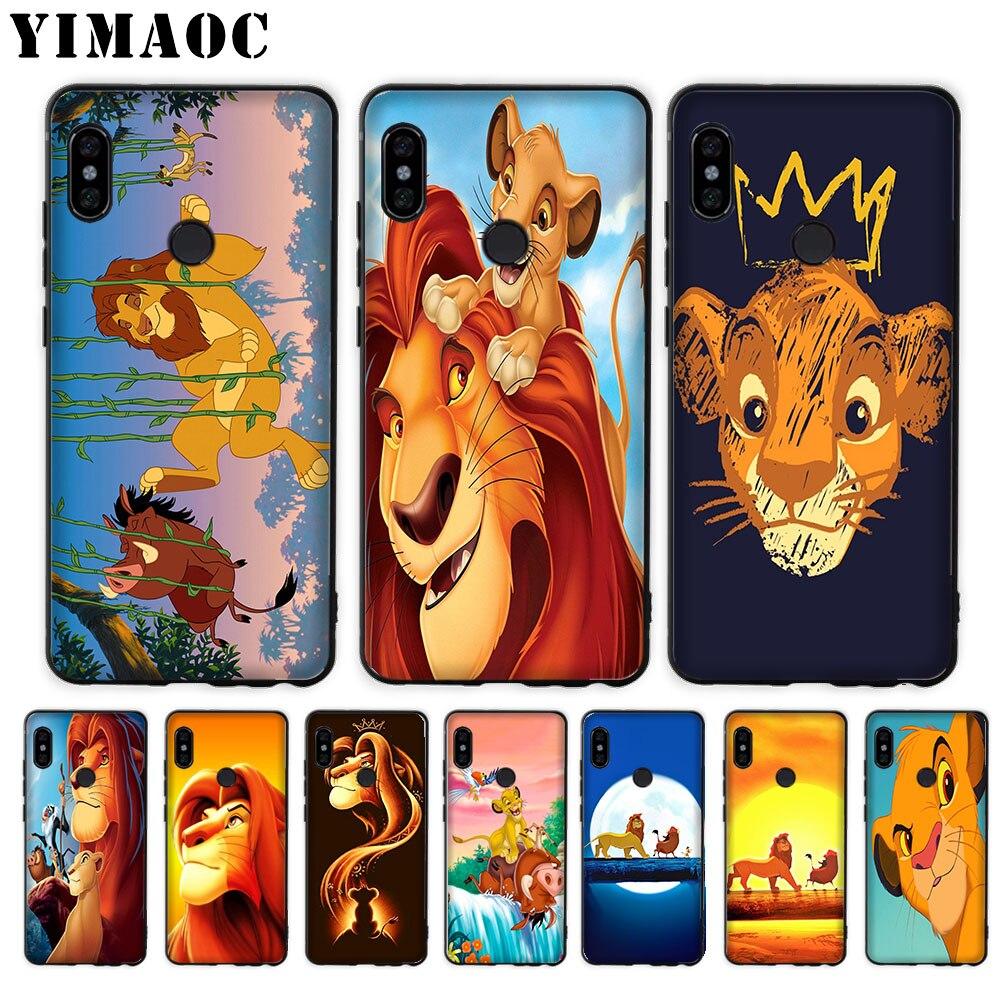 YIMAOC Soft-Case Mi8 Lite Lion King Pocophone-F1 Mi6 Xiaomi Mi5 Mi5s For Mi9 A1 A2 Max-3