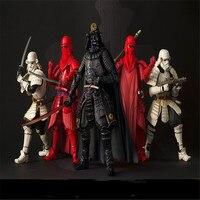 New Star Wars Action Figures Boba Fett Darth Vader Szturmowiec Sic Samurai Realizację Taisho 17 cm Anime Figury kid Zabawki prezent