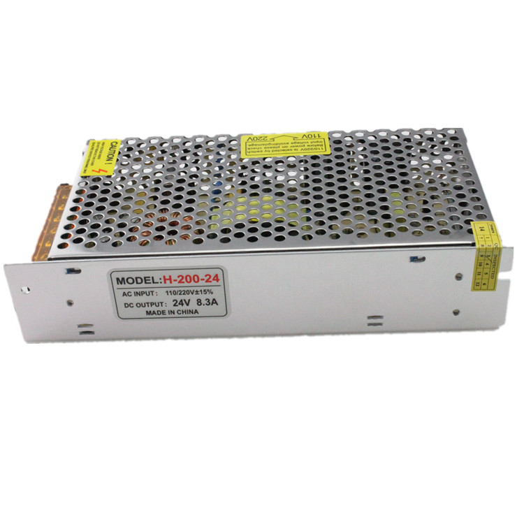 power supply manufacturers 230vac 24vdc 24V LED display 200W - THREE FLOWER TRADE SHOP store