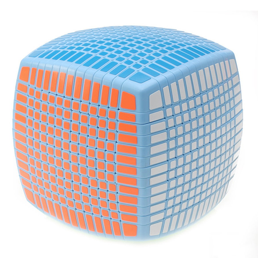 Blue Magic Cube Puzzle Games Children Educational Toys Square Speed Brinquedo Menino Polymorph Cubos Magicos Brain Teaser 50D565 3d magic maze ball 100 levels intellect ball rolling ball puzzle game brain teaser children learning educational toys or