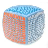 Blue Magic Cube Puzzle Games Children Educational Toys Square Speed Brinquedo Menino Polymorph Cubos Magicos Brain Teaser 50D565
