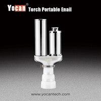 Yocan факел Starter Kit для Воск испаритель и сухой травы испаритель Partable электронные сигареты Воск VAPE сухой травы бак распылитель коробка
