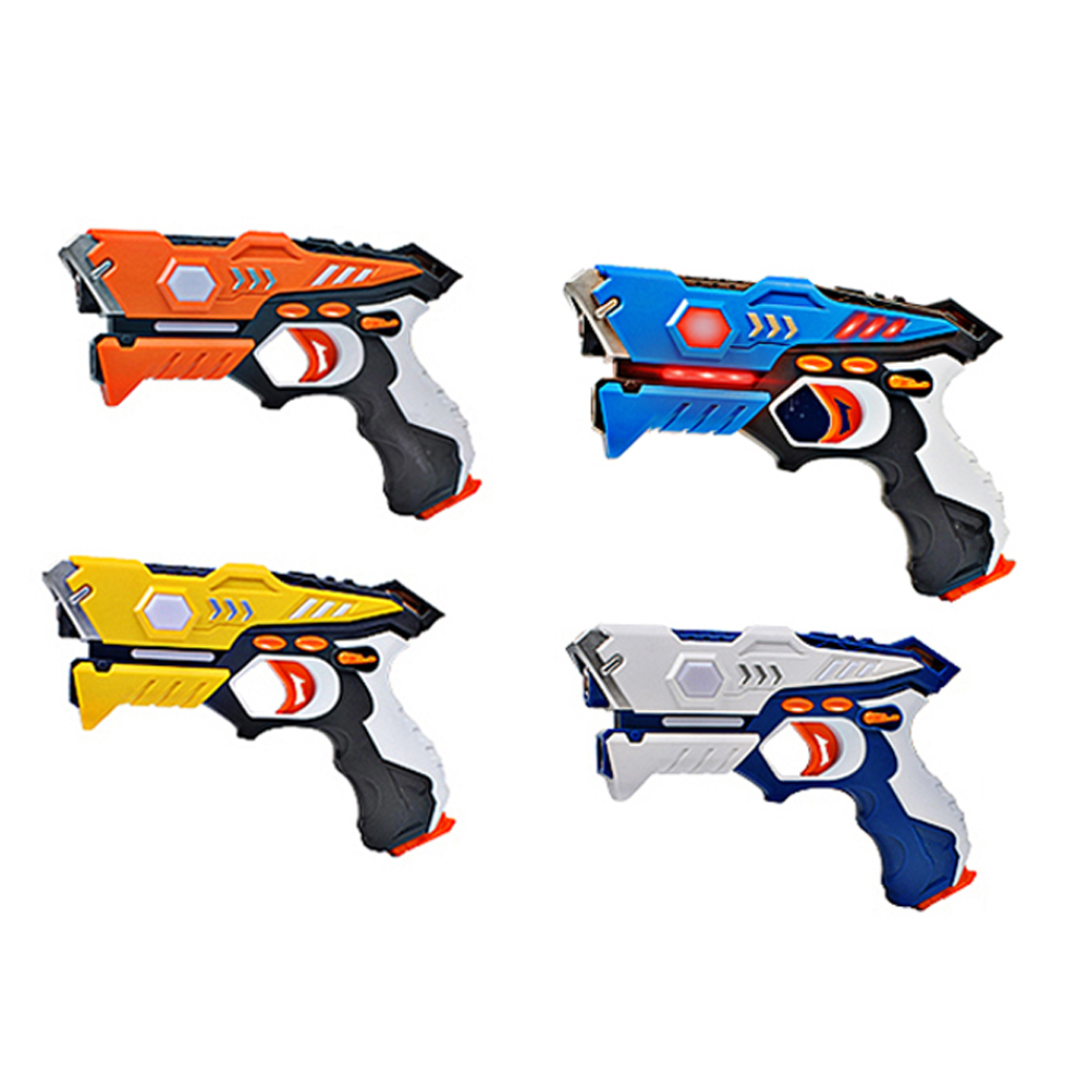 Infrared Laser CS Playing Digital Electric Guns Toy Laser Tag With Flash Light Sounds Effect Shooting Game Toys For Children