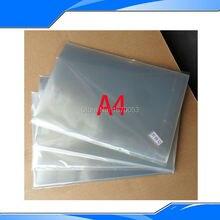 50 штук 210 мм x 297 мм x 0,12 мм струйная и лазерная печать прозрачная пленка Водонепроницаемая прозрачная пленка экран печатная плёнка для переноса изображения