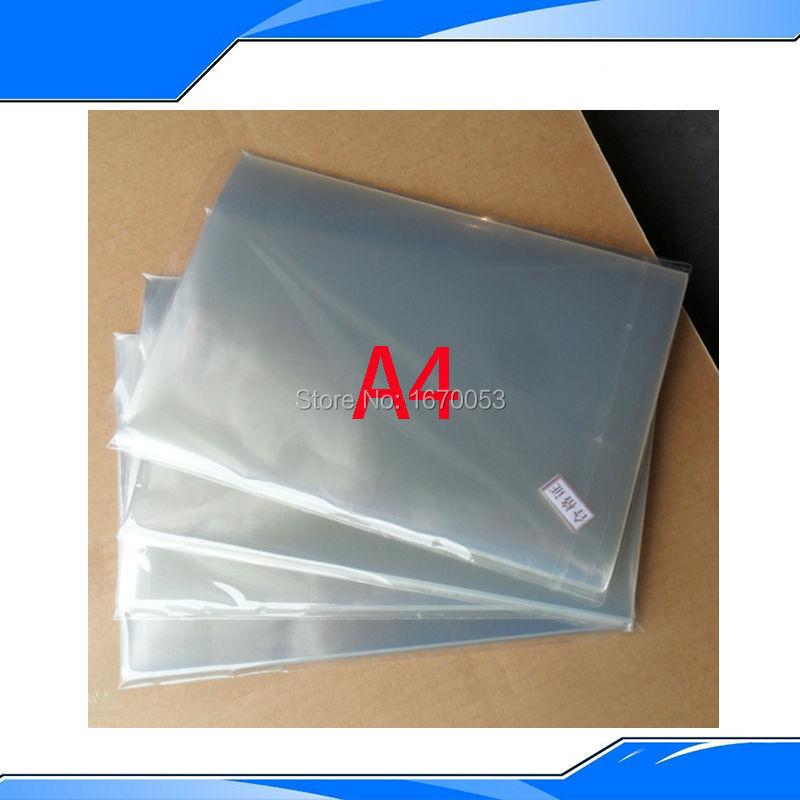 50 Pieces 210mmx297mmx0.1mm Inkjet & Laser Printing Transparency Film Waterproof Transparency Film Screen Printing Transfer Film ral swatch