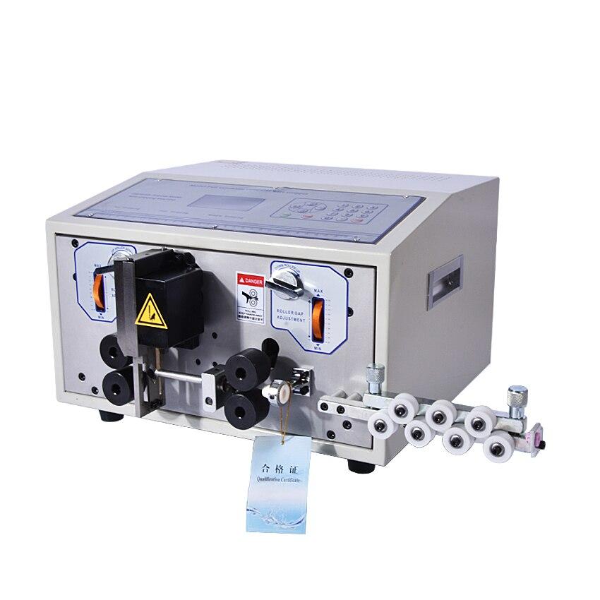 Machine de dénudage de fil SWT508 série quatre roues motrices ordinateur automatique câble Machine de découpe de fil 0.1 à 4.5 ou 8 ou 10 mm2