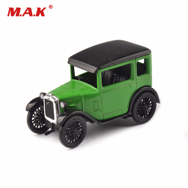 Children Toys 1/43 Scale Classic Car Models Oxford Austin Seven RN Saloon Westminster Diecast Vehicles Car Model Cheap Toy