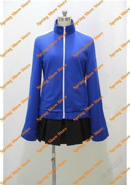 Kagerou projet Enomoto Takane Costume Cosplay Anime personnalisé uniforme bleu