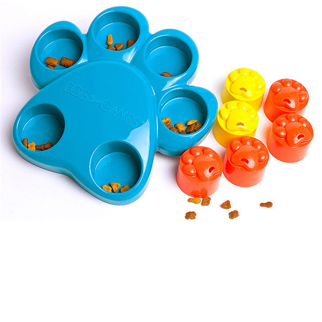 2017 New Dog Toys Interactive Dog Baby Toys High Quality Pet Dog Training Toys Roller Paw Puzzle Slowing-Eating Dogs Pets Toys