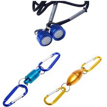 Fly Fishing Solid Magnetic Buckle Net Release Clip Hanging Buckle Tackle Holder JUN13