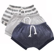 Baby Bloomers Newborn Girl Shorts Toddler Boy Striped Pant Infant PP Summer Beach Harem Cotton Kids